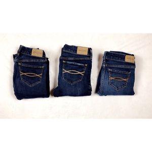 Abercrombie Kids Skinny Jeans Bundle Girls